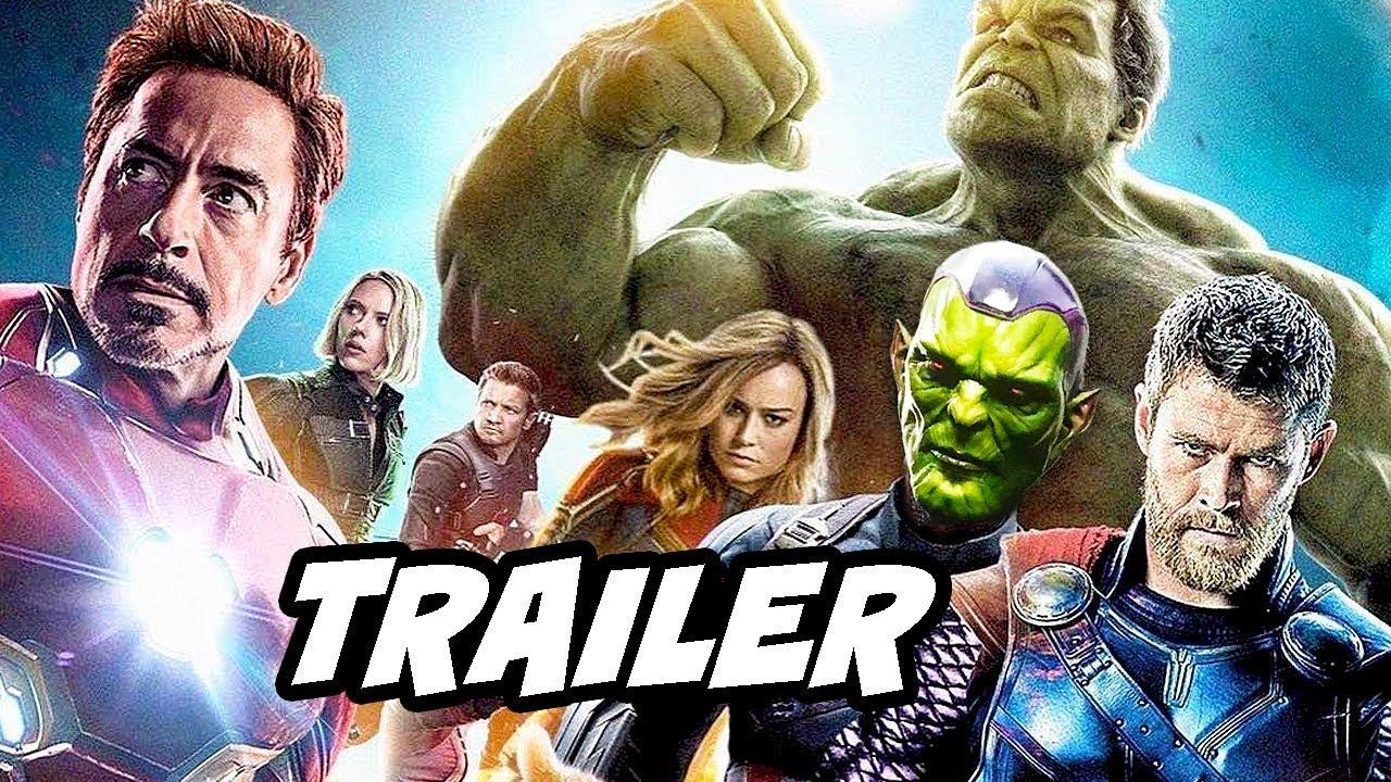 Download Captain Marvel Trailer - Avengers Endgame Theory Breakdown