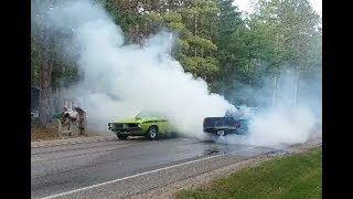 Lewiston Car Show Parade & Mega Burnouts