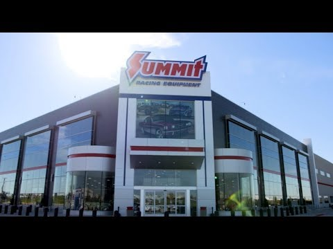 Summit Racing Equipment Store That Opened In Arlington, TX