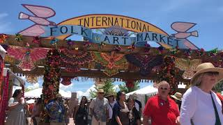 International Folk Art Market 2019 | Santa Fe New Mexico - Portal