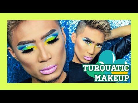 STUNNING Turquatic Makeup ▷ Marc Zapanta