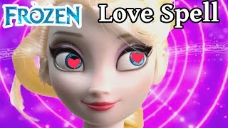 Queen Elsa Disney Frozen LOVE SPELL Princess Anna Kristoff Part 30 Barbie Dolls Series Video