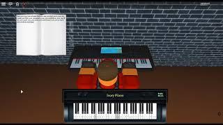 Time - Inception by: Hans Zimmer auf einem ROBLOX Klavier.