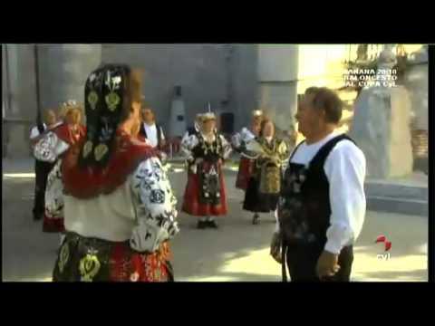 Jotas y mucho más - Coro y danzas Pilarica, Valladolid; folclore Cuatrocaños, Grupo de danzas Bieldo, Segovia