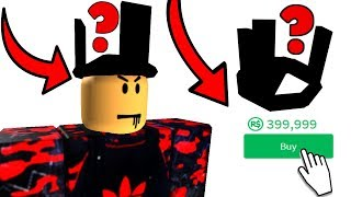 Buying a Domino Crown on ROBLOX!