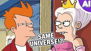 Are Disenchantment and Futurama Set in the Same Universe? (Animation Investigation)