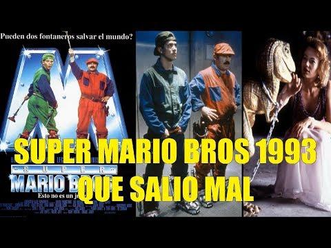 Super Mario Bros La Pelicula Que Salio Mal y Curiosidades