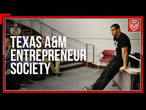 The Truth Spoken to Young Entrepreneurs at Texas A&M University