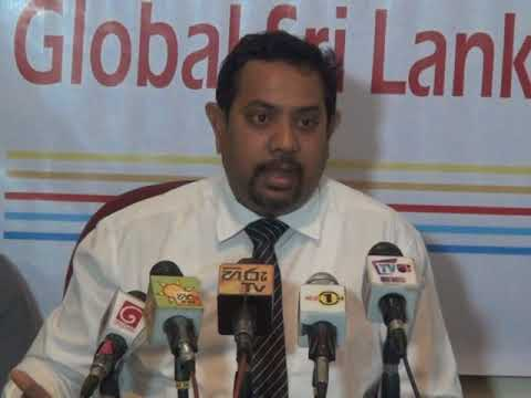 Global Sri Lanka Forum - Press Conference ( 2017-10-10) Nuwan Ballanthudawa (Attorney-at-Law )