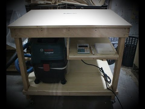 Simple Wood Workbench Table DIY Build