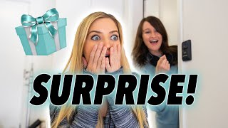 Surprising my sister on her birthday!