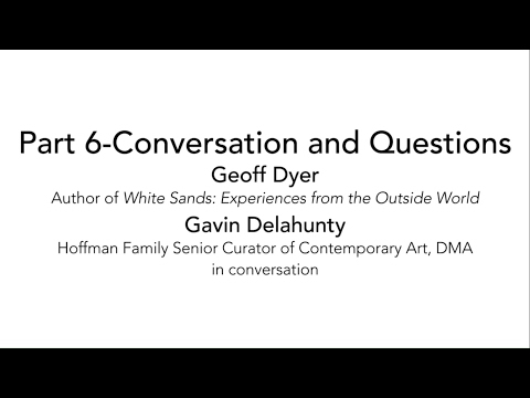 Art This Week-At the Dallas Museum of Art-Arts & Letters Live-Part 6-Conversation and Questions