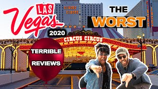 Las Vegas Tips | The WORST Reviewed CHEAP Hotels & Motels on the Las Vegas Strip (Las Vegas Travel)