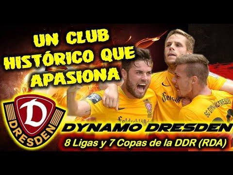DYNAMO DRESDEN - Un club histórico que apasiona - Clubes del Mundo (Alemania)