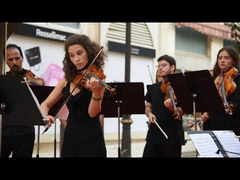 Vivaldi. Ceuta Symphony Orchestra a pie de calle