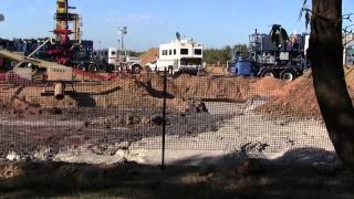 Up Close Kern County Fracking Operation (Shafter, California)