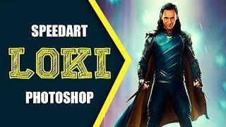 Loki - Как Сделать Постер к Сериалу / Photoshop Manipulation Tutorial
