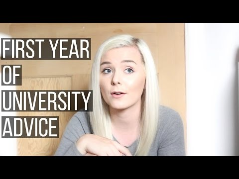 FRESHERS ADVICE | First Year Of University Tips