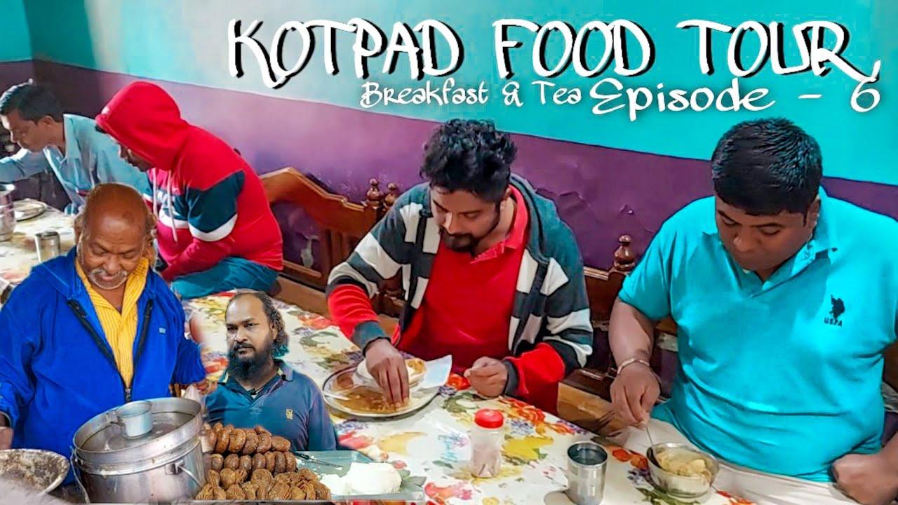 Morning Food Tour In Kotpad | Indian Breakfast | Street Food In Odisha | Puri Upma Vlog | Tea Seller