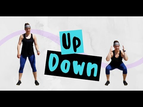 80 Rep 🔥 Lunge / Squat Challenge - Up Down (Morgan Wallen x Florida Georgia Line) Dance Fitness