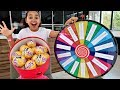 1 SPIN = 2 TOYS!! SPIN WHEEL CHALLENGE | LOL Surprise Dolls | Toys AndMe