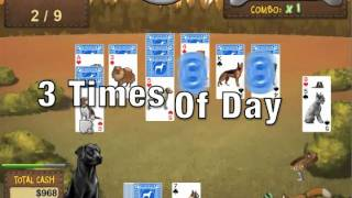 Best in Show Dog Solitaire Card Game Trailer with Music