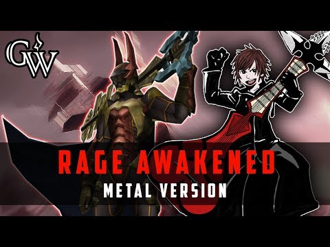 KINGDOM HEARTS METAL ► Rage Awakened | Guitar Cover