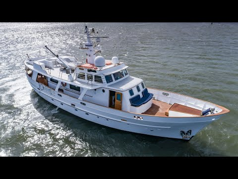"""1965 Classic 74 Motor Yacht  """"Shilo""""   For Sale with The Yacht Sales Co."""