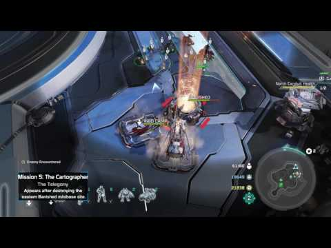 Halo Wars 2 • Phoenix Logs Campaign Locations