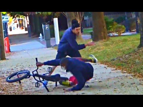 Bait Bike Pie Prank!