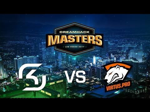DreamHack Las Vegas - Virtus.Pro vs SK Gaming @train G2