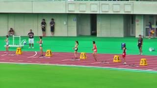 H29年度 学校総合 埼玉県大会 中学女子200m決勝 thumbnail