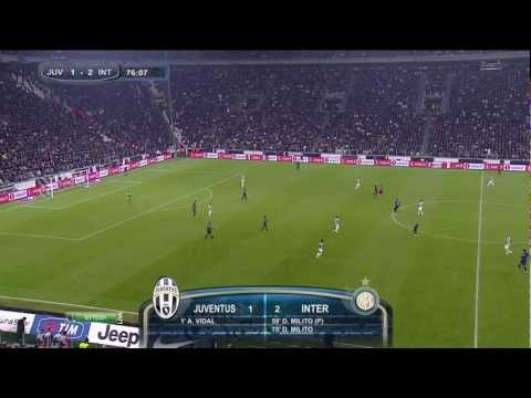 Stagione 2012/2013 - Juventus vs. Inter (1:3)