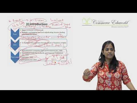 Insolvency & Bankruptcy Code 2016 by CA Arpita Tulsyan (Applicable from Nov 2017 onwards)