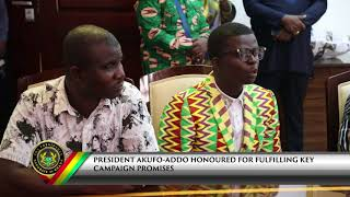 Kente Weavers and Sellers Association call on the President