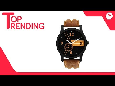 Brown Analog Watch For Men | Best Selling Watches