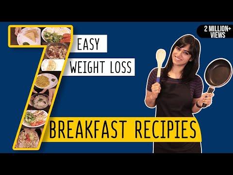 7 Breakfast Recipes for Weight Loss | Easy to Make | GunjanShouts