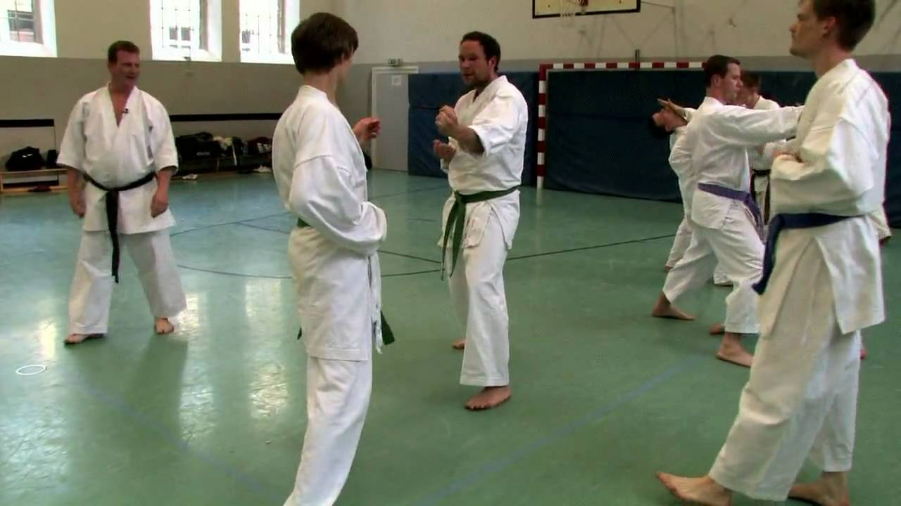 Karate Training with Sven Grote at