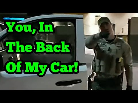 Pinal County Sheriff acting up - Edited Clean version
