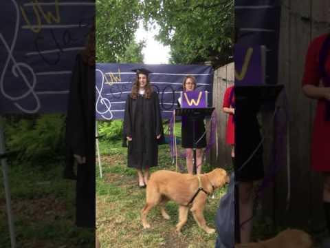UW Music Masters Graduation Celebration 201(5)6