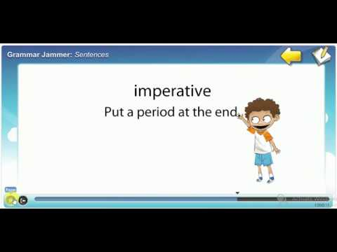 Four Types of Sentences - YouTube