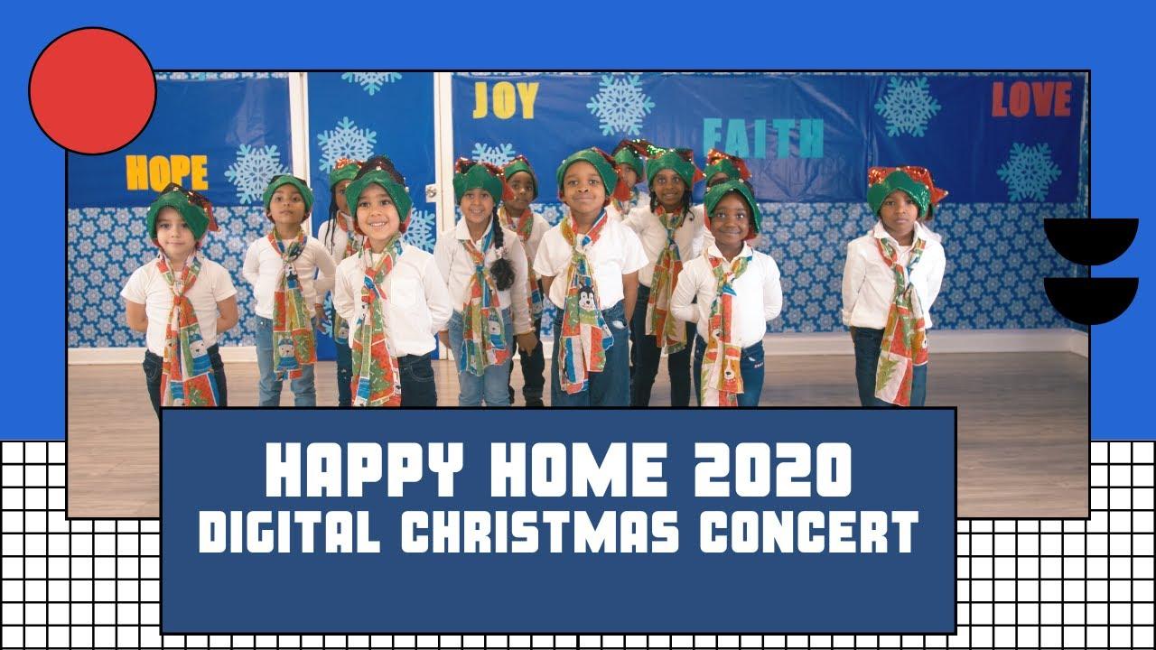 Happy Home 2020 Digital Christmas Concert