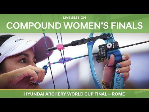 Full session: Compound Women's Finals | Rome 2017 Hyundai Archery World Cup Final