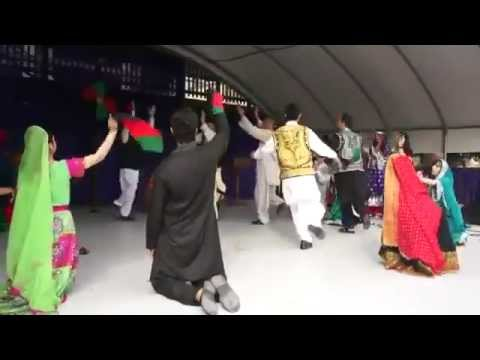 Afghan folk dance in kabul university