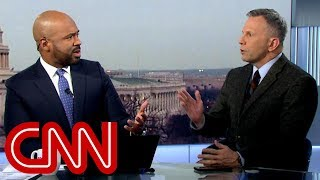 CNN anchor hammers panelist over Trump hypocrisy