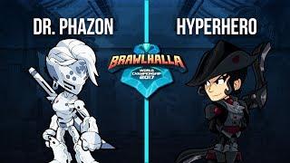 Dr.Phazon Vs. HyperHero - 1v1 Top 32 - 2nd Annual Brawlhalla World Championship