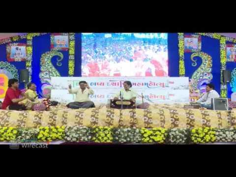 Swaminarayan Mandir Morbi - Dashabdi Mahotsav Day-04 - Night - Mayabhai Ahir