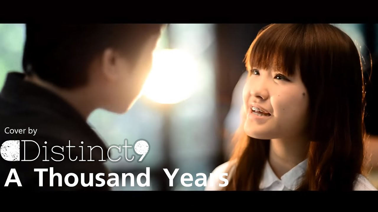 (Christina Perri)A Thousand Years - Distinct9 [Cover] Feat ... A Thousand Years Facebook Cover