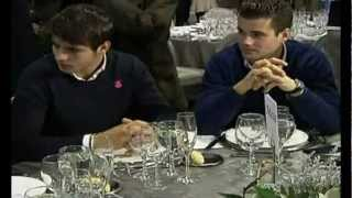Real Madrid Comida de Navidad 2012 ||HD||