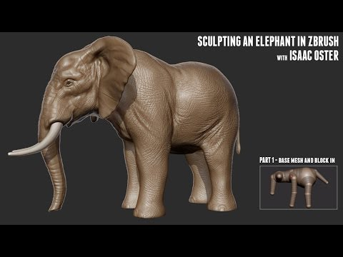 Sculpting an Elephant with Isaac Oster - Part 1